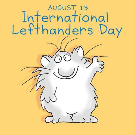 left handed2 world pictures6 کارت پستال های روز جهانی چپ دست