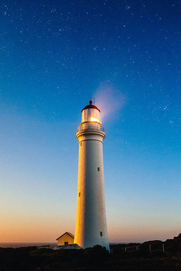 lighthouses 1 عکس هایی زیبا از فانوس های دریایی در روز و شب
