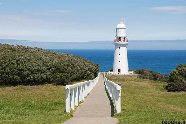 lighthouses 10 عكس هايي زيبا از فانوس هاي دريايي در روز و شب