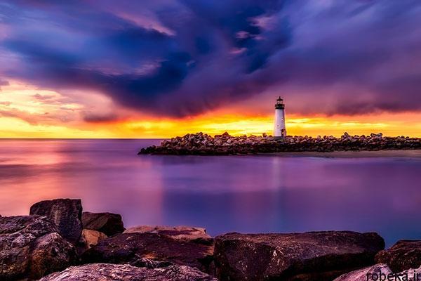 lighthouses 13 عکس هایی زیبا از فانوس های دریایی در روز و شب