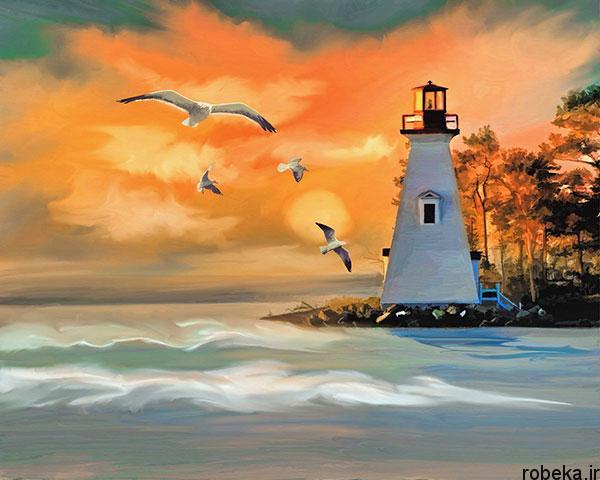 lighthouses 15 عکس هایی زیبا از فانوس های دریایی در روز و شب