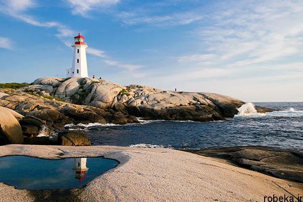 lighthouses 2 عکس هایی زیبا از فانوس های دریایی در روز و شب
