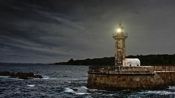 lighthouses 4 عکس هایی زیبا از فانوس های دریایی در روز و شب