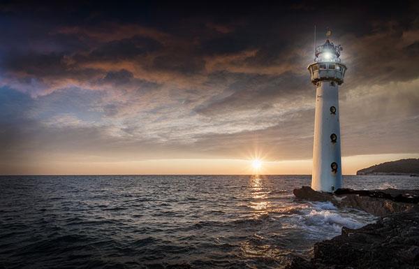 lighthouses 7 عکس هایی زیبا از فانوس های دریایی در روز و شب