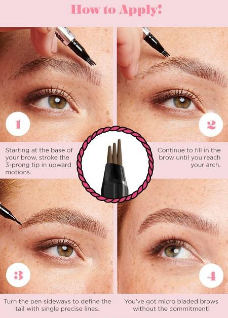 liquid Pen eyebrow 06 ماژیک ابرو چیست؟ چطور از ماژیک ابرو استفاده کنیم؟