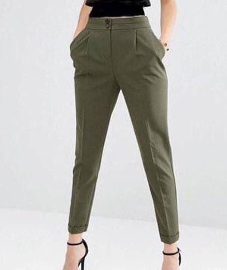 شلوار فاق بلند, مدل شلوار فاق بلند
