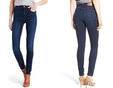 مدل شلوار فاق بلند, شلوار جین فاق بلند