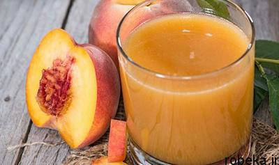 make1 peach syrup2 طرز تهیه شربت هلو آنتی بیوتیکی طبیعی