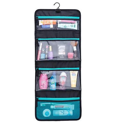 ایده هایی برای کیف های لوازم آرایش, کیف لوازم آرایش چرمی