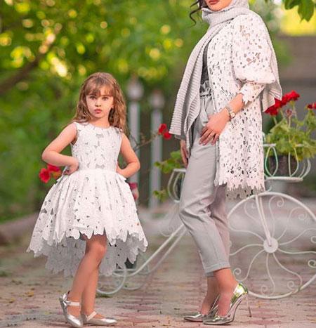 ست های مانتو مادر دختری, مدل های مانتو مادر و دختری