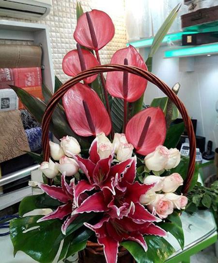 match1 bouquet1 model28 مدل سبد گل خواستگاری
