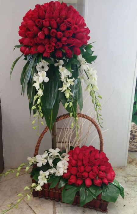 match1 bouquet1 model29 مدل سبد گل خواستگاری