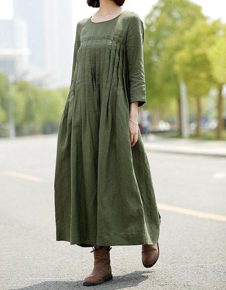 maxi2 model6 جدیدترین مدل پیراهن بلند نخی