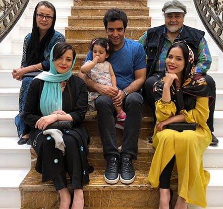 melika sharifinia images24 بیوگرافی ملیکا شریفی نیا + عکس های خانواده اش
