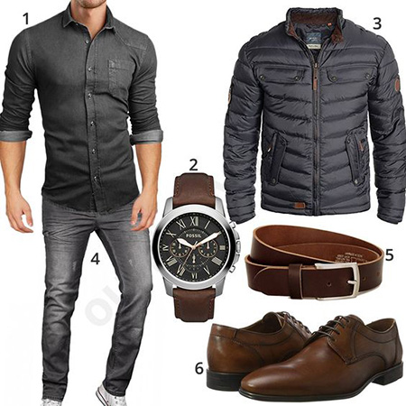 مدل های ست لباس مردانه با کاپشن, مدل ست های مردانه با کاپشن