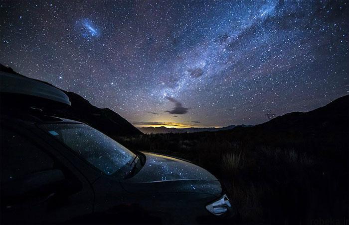 milky way galaxy beautiful photos 10 عکس های زیبا و خیره کننده از کهکشان راه شیری