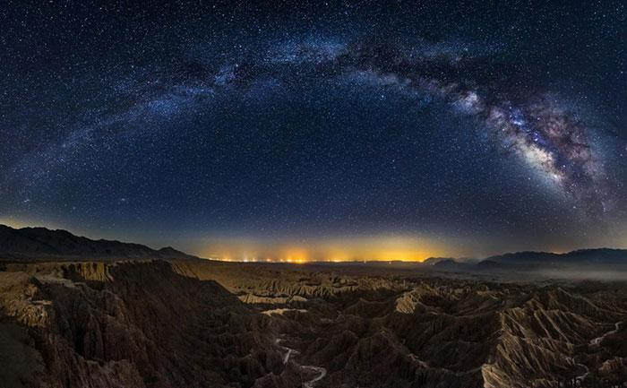 milky way galaxy beautiful photos 14 عکس های زیبا و خیره کننده از کهکشان راه شیری