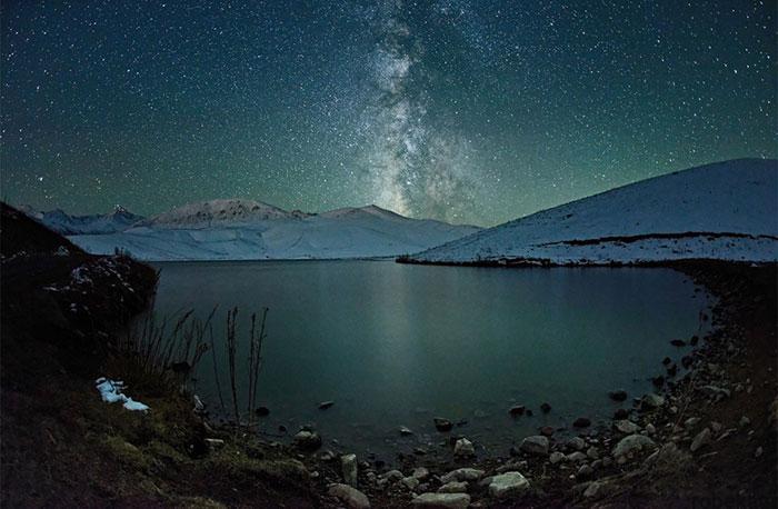 milky way galaxy beautiful photos 15 عکس های زیبا و خیره کننده از کهکشان راه شیری