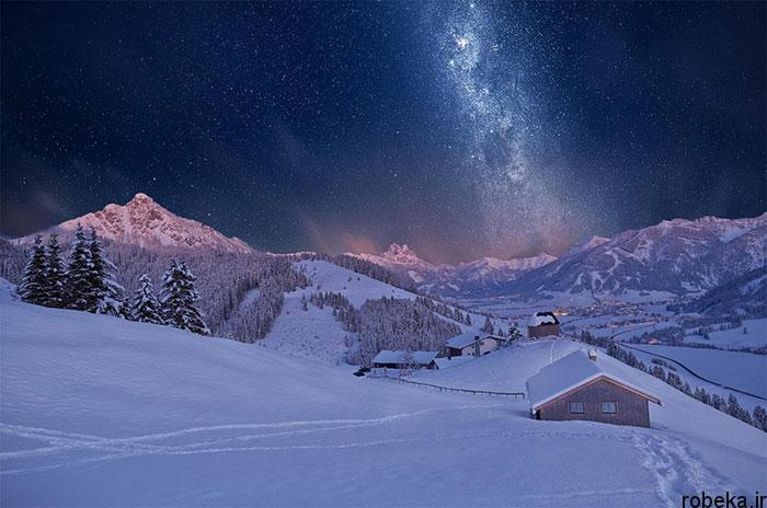 milky way galaxy beautiful photos 16 عکس های زیبا و خیره کننده از کهکشان راه شیری