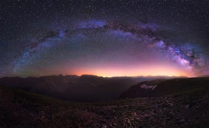 milky way galaxy beautiful photos 17 عکس های زیبا و خیره کننده از کهکشان راه شیری