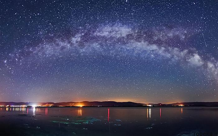 milky way galaxy beautiful photos 22 عکس های زیبا و خیره کننده از کهکشان راه شیری