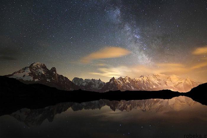 milky way galaxy beautiful photos 3 عکس های زیبا و خیره کننده از کهکشان راه شیری