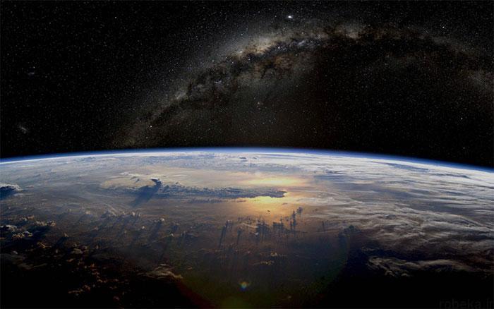 milky way galaxy beautiful photos 5 عکس های زیبا و خیره کننده از کهکشان راه شیری