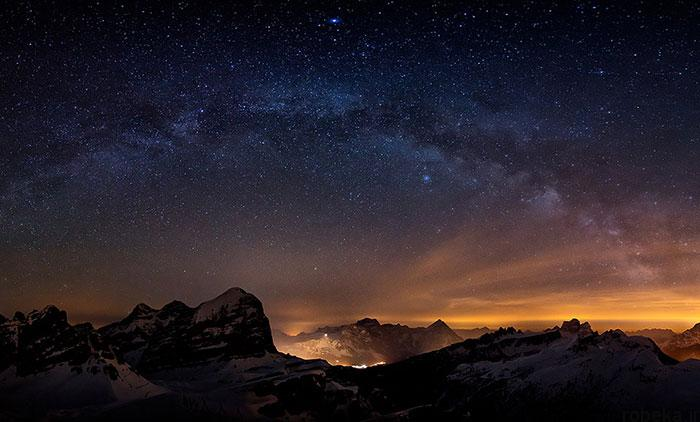 milky way galaxy beautiful photos 6 عکس های زیبا و خیره کننده از کهکشان راه شیری