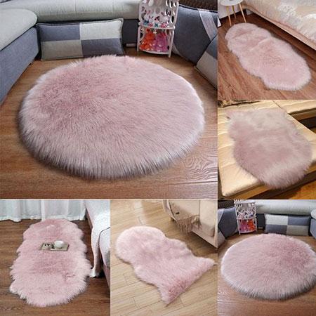 mo10515 فرش های پرزدار شیک