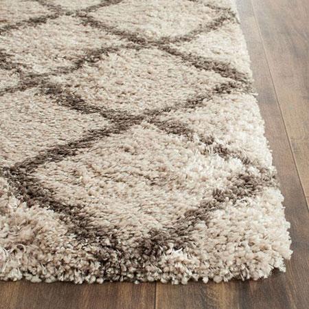mo10519 فرش های پرزدار شیک