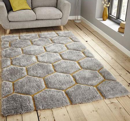 mo10521 فرش های پرزدار شیک
