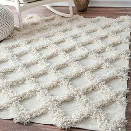 mo10523 فرش های پرزدار شیک