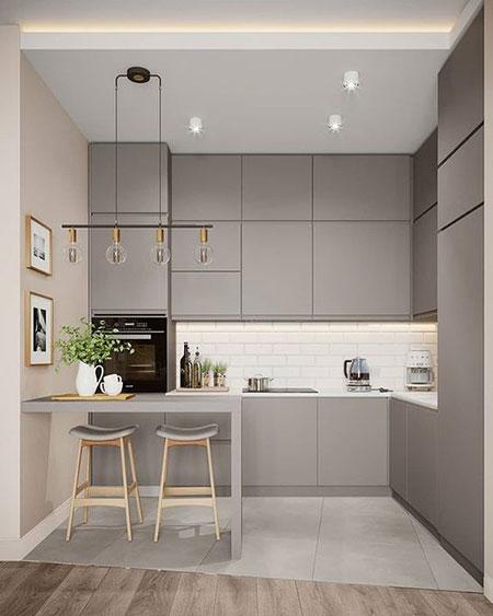 مدل های آشپزخانه کوچک,طراحی شیک آشپزخانه های کوچک