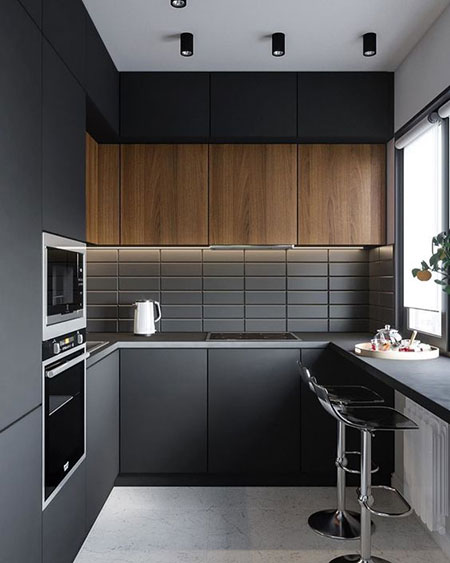 مدل آشپزخانه کوچک,شیک ترین مدل آشپزخانه کوچک