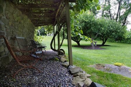 mo14387 نمونه هایی از سنگ فرش باغ و حیاط
