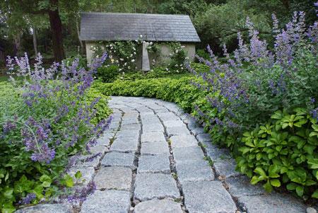 mo14389 نمونه هایی از سنگ فرش باغ و حیاط