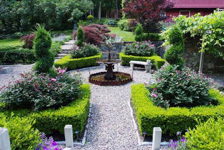 mo14390 نمونه هایی از سنگ فرش باغ و حیاط