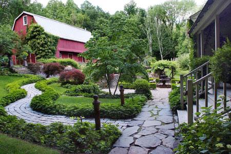 mo14392 نمونه هایی از سنگ فرش باغ و حیاط