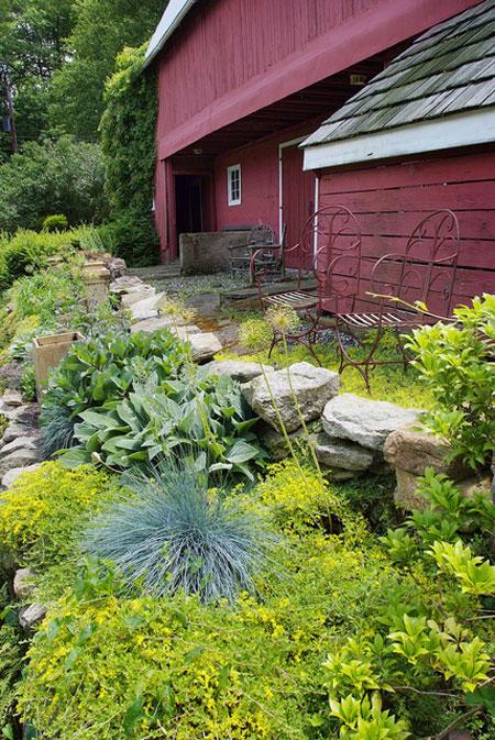 mo14393 نمونه هایی از سنگ فرش باغ و حیاط