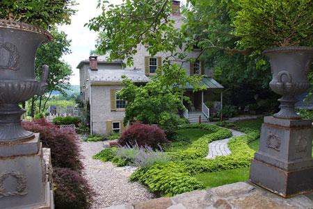 mo14395 نمونه هایی از سنگ فرش باغ و حیاط