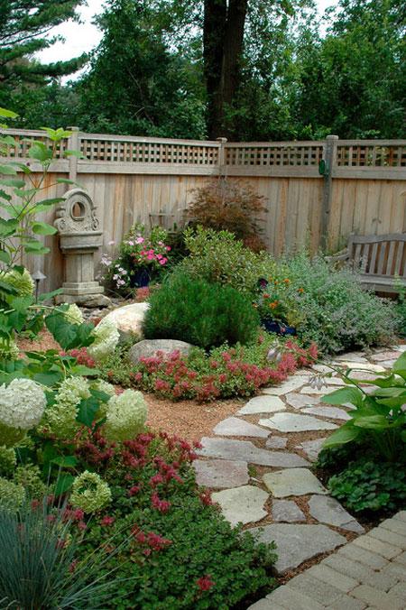 mo14397 نمونه هایی از سنگ فرش باغ و حیاط
