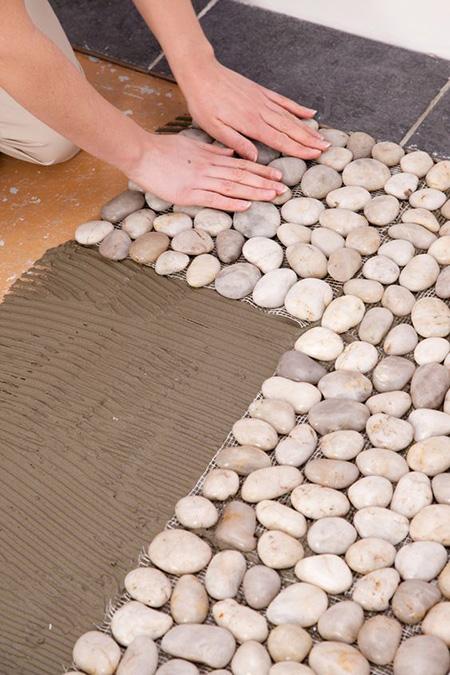 mo14399 نمونه هایی از سنگ فرش باغ و حیاط