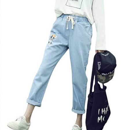 mo19622 بهترین و مناسب ترین شلوار زنانه در تابستان