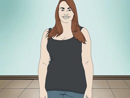 تکنیک های ست کردن لباس خانم های چاق,شلوارهای مناسب خانم های چاق