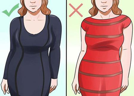 نحوه لباس پوشیدن افراد پهلو دار,نحوه پوشش خانم های شکم بزرگ
