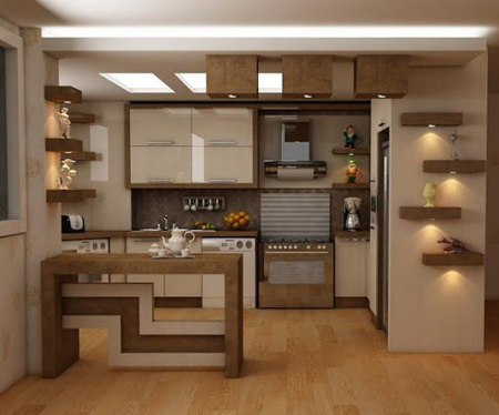 مدل کابینت ام دی اف,کابینت آشپزخانه