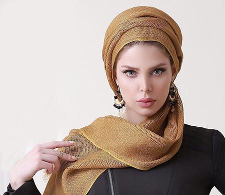 mo9199 12 مدل بستن روسری و شال