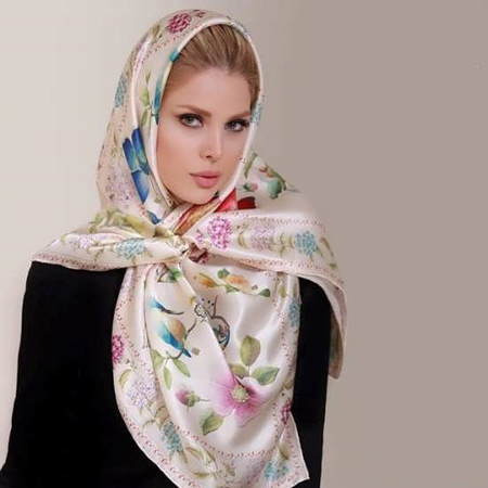 mo9207 12 مدل بستن روسری و شال