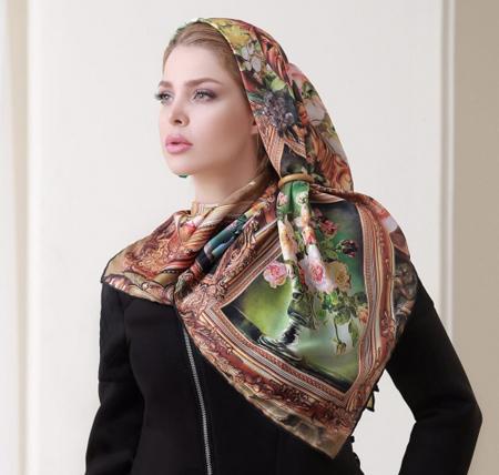 mo9208 12 مدل بستن روسری و شال