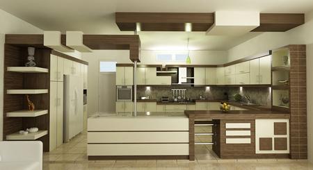 ایده هایی برای کابینت ام دی اف آشپزخانه,کابینت آشپزخان